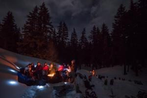 Wanderlust NYE Bonfire on the Snow - Wanderlust Tours